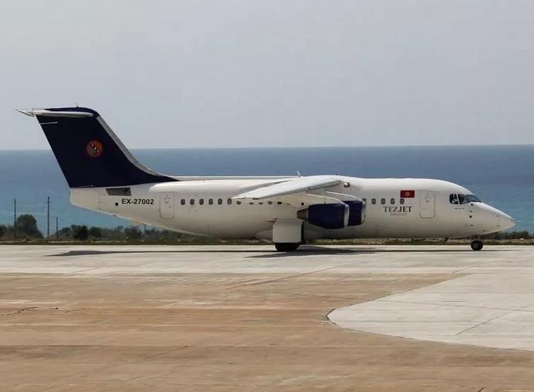 самолет Tez Jet